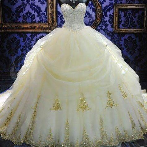 24 vestidos de novia inspirados en las princesas disney | belle of