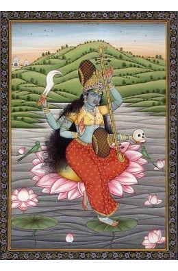 Goddess Matangi, Ninth in Dus-Mahavidya