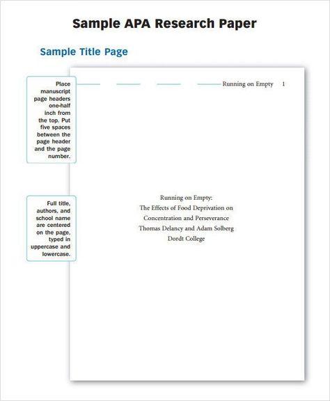 Apa Format Paper Template Stunning Apa Short Essay Format Short