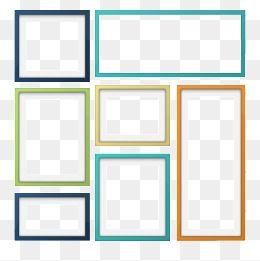 Frame Color Color Frame Square Frame Png Transparent Clipart Image And Psd File For Free Download Frame Adobe Photo Square Frames