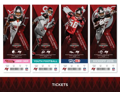 Mock up of what a Luxury Suite Season Ticket holder of the Tampa Bay Buccaneers could receive.
