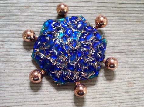 Matisse GEO Pin Brooch Very Rare MATISSE Copper by TheCopperCat