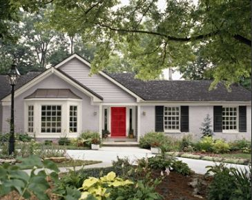 Best Exterior Paint Colors For Of Ranch Style Homes