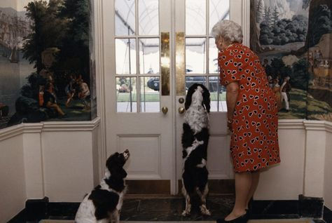 White House Pets First Ladies With Family Pets