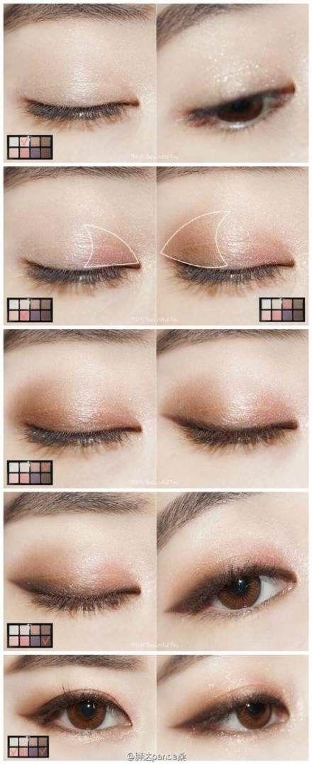 Trendy Eye Makeup Tutorial Asian Eyeshadows 70 Ideas Eye Makeup Tutorial Trendy Eyeshadow Asian Makeup Tutorials