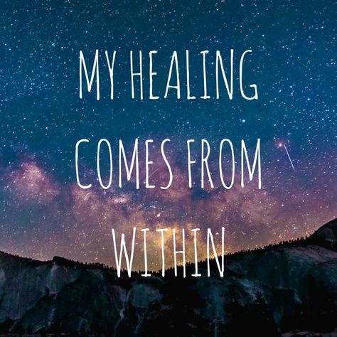 My Healing Comes From Within  #mantra #healing #healingwork #empowerment #spiritualjourney #lightworker #healingjourney #reiki #thestar #tarot #intuitivetarot #embodiedtarot