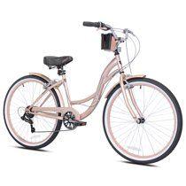 Kent 26 Bayside Women S Cruiser Bike Rose Gold Walmart Com In 2020 Cruiser Bike Womens Bike Beach Cruiser Bike