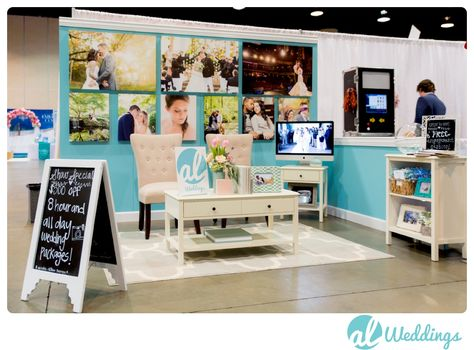Southern Bridal Show booth