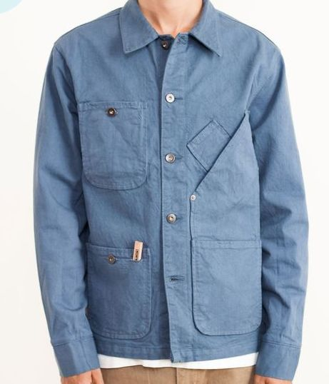 postprotest geek - Coverall Jacket Garment Dyed in Candiani Denim by Tellason
