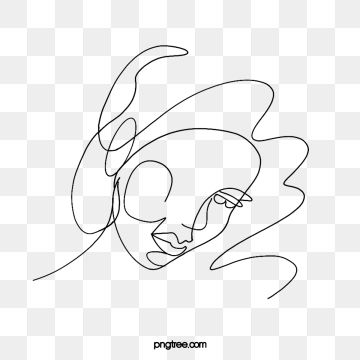 Cartoon Hand Drawn Line Woman Illustration Lips Hair Cartoon Png Transparent Clipart Image And Psd File For Free Download In 2021 Woman Painting Cartoon Clip Art Woman Illustration
