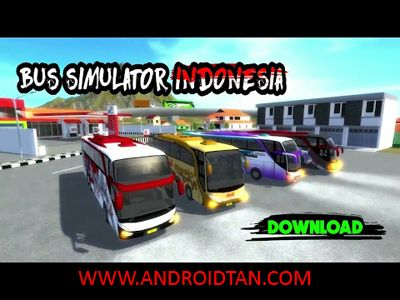 Download Bus Simulator Indonesia Mod Apk (Unlimited Money