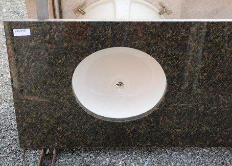 Granite Uba Tuba Double Sink Vanity Top 73 X22 5 X1 25 Thick