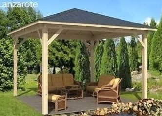 Gartenlounge Selber Bauen Ein Pavillon Fur Die Ganze Familie Gazebo Pergola Wooden Gazebo