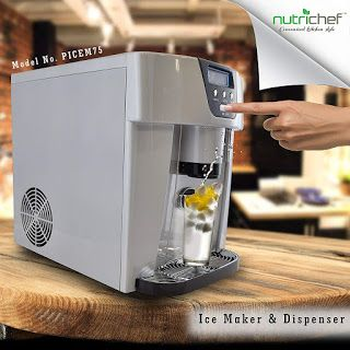Nutrichef Picem75 Review Portable Ice Maker Ice Maker Ice