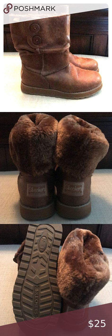 Sketchers Keepsakes Size 8 Cozy, brown Sketchers Keepsakes boots. Barely worn, l...,  #Barely #Boots #Brown #Cozy #cozyrain #Keepsakes #Size #Sketchers #worn