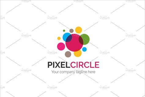 pixel circle v2 logo circle pixel templates logo google