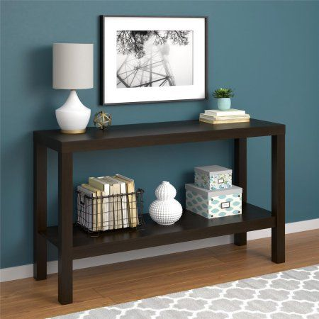Magnificent Mainstays Parsons Console Table Multiple Colors Available Ibusinesslaw Wood Chair Design Ideas Ibusinesslaworg