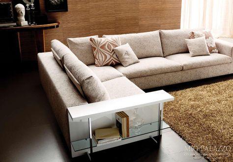 итальянский диван в современном стиле Bontempi Lasar 02 мебель