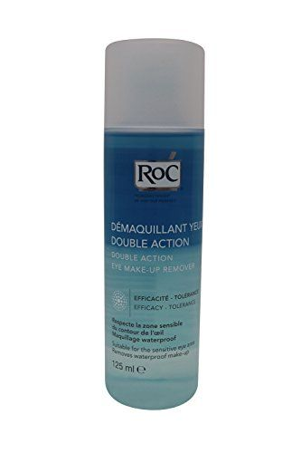 Roc Double Action Eye Make Up Remover 125ml Read More At The Image Link Eye Make Up Remover Makeup Remover Eye Make