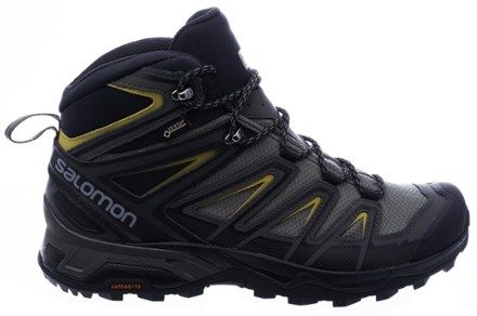 big sale 2def5 85da8 Salomon Men's X Ultra 3 Mid GTX Hiking Boots Castor Grey ...