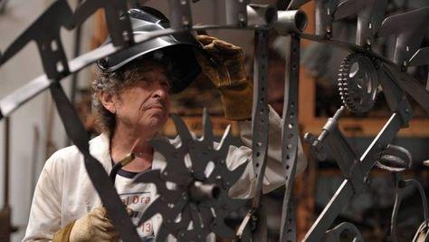 Le sculture di Bob Dylan in mostra a Londra