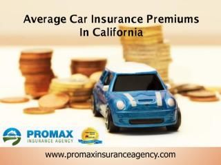 Overall Compared To The Average Car Insurance In California