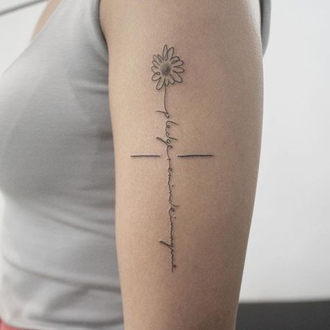 tattoos 점 -> 꽃 레터링🌸 . #soptattoo #솝타투...