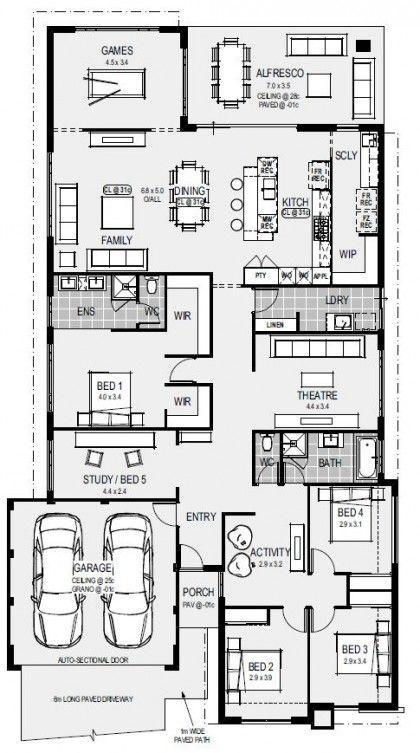 The Naples Floorplan Home Design Floor Plans Dream House Plans Sims House Plans House floor plan dream