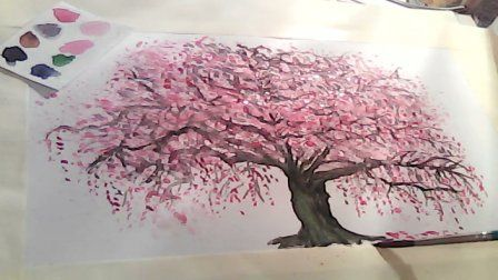 Cherry Blossom Painting Image By Katiedynamite86 On Photobucket Cherry Blossom Painting Cherry Blossom Art Blossoms Art
