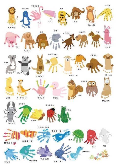 Pin by Betty Miranda on Art | School kids crafts, Art activities for  toddlers, Handprint crafts