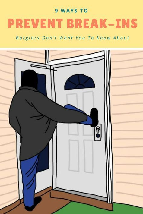 9 Ways To Prevent Break-Ins Burglars Don't Want You To Know About - Home Safety & Comfort - Instandhaltungsarbeiten Window Security, Home Security Tips, Safety And Security, Home Security Systems, Security Camera, House Security, Security Room, Security Gadgets, Private Security
