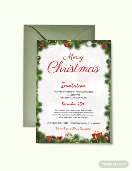 Undefined Christmas Invitations Template Free Christmas Invitation Templates Dinner Invitation Template