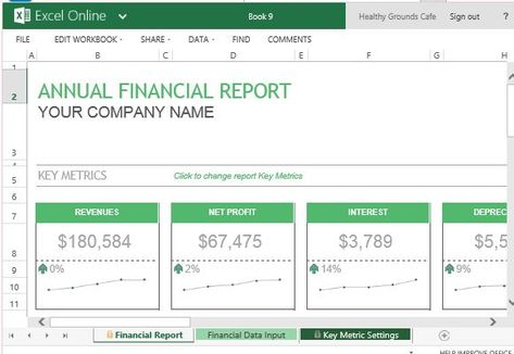 14 best FINANCIAL PLANNING - Income statement etc images on - financial report templates
