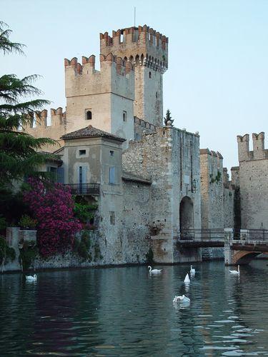 Castillo de Scaliger, Verona, provincia de Verona, región de Véneto.