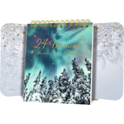 24 Momente Die Wie Sterne Leuchten Tisch Adventskalender Adventkalender Adventskalender Advent