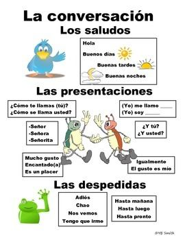 Beginning Spanish Conversation PICTURE Notes product from Spanish the easy way…