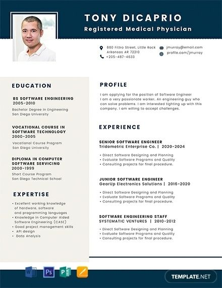 Free Medical Student Resume Format Word Psd Indesign Student Resume Student Resume Template Teacher Resume Template