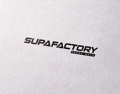 Check Out New Work On My Behance Portfolio Supafactory Trademark Logo Http Be Net Gallery 69278333 Supafactory Trademark Trademark Logo Logos Logo Design