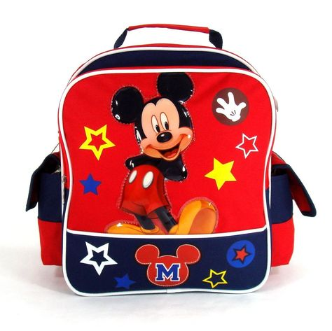 The Best Disney Mickey Mouse Backpacks For Toddlers - 10 and 12 ... a39eda99b3e23