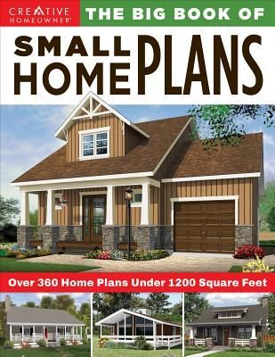 Pdf Download The Big Book Of Small Home Plans Over 360 Home Plans Under 1200 Square Feet In 2020 Small House Plans Carriage House Plans Cottage House Plans