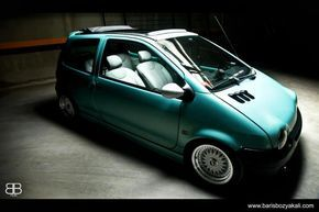 Bbs Rs On Renault Twingo Coches Twingo Tuning