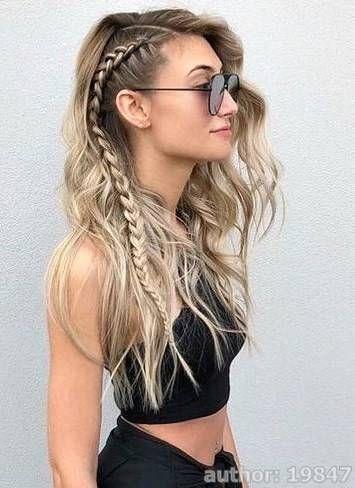 Hairstyles Long Hair Everyday Etsy In 2020 Medium Hair Styles Easy Hairstyles For Long Hair Spring Hairstyles