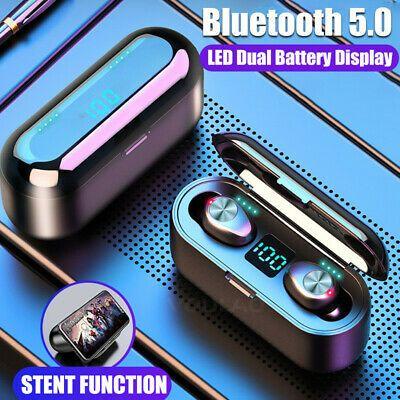 Details About Bluetooth 5 0 Headset Tws Wireless Earphone Mini In Ear Earbud Stereo Headphones Headphones Wireless Headphones Wireless Earphones