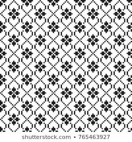 Vector de stock (libre de regalías) sobre Knitted Seamless