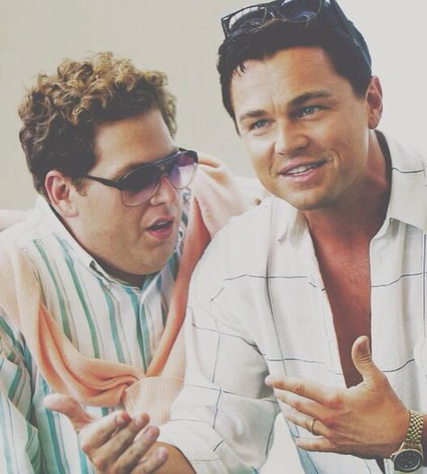 Leonardo Dicaprico  Jonah Hill. Wolf Of Wall Street. DOPE DOPE DOPE