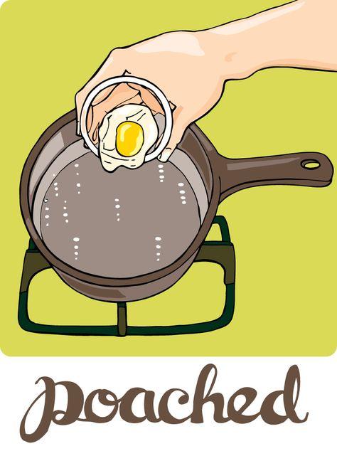 Eggcellent Poached Eggs Food Food Recipes