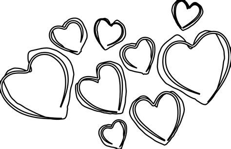 Heart Black And White In 2021 Clip Art Clip Art Borders Clipart Black And White