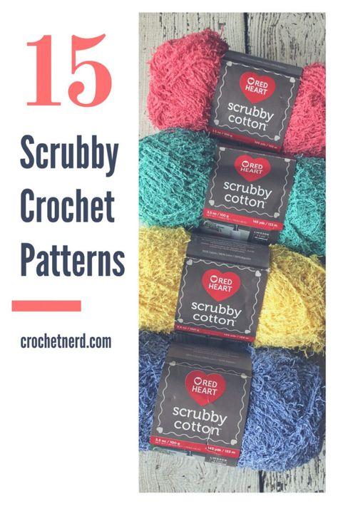 Scrubby Yarn Crochet Patterns