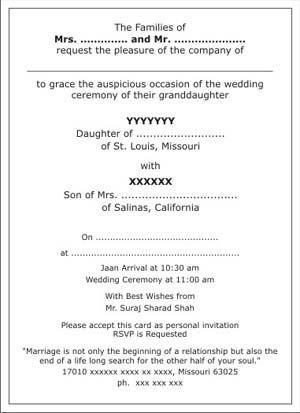 List Of Pinterest Indiane Wedding Invitations Cards Wordings