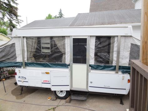 How To Renovate A Pop Up Trailer For Under 100 Pop Up Tent